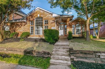 Plano Single Family Home Active Option Contract: 2320 Havard Oak Drive