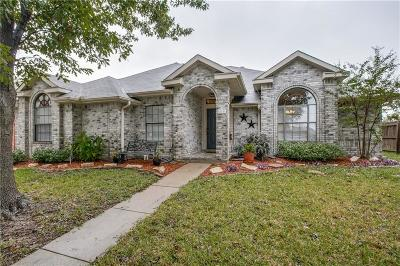 Frisco Single Family Home Active Contingent: 10741 Castle Drive