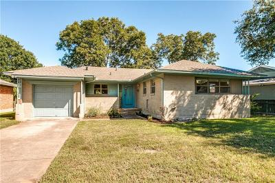 Dallas Single Family Home For Sale: 9070 Leaside Drive