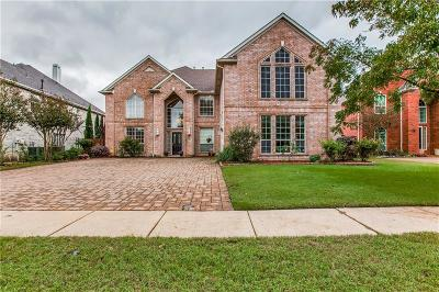 Coppell Single Family Home Active Option Contract: 213 Chestnut Lane