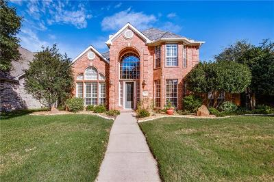 Coppell Single Family Home Active Option Contract: 1332 Coral Drive