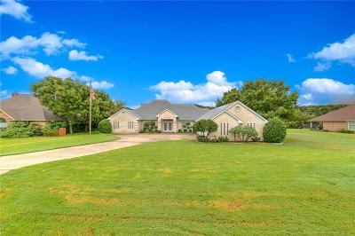 Granbury Single Family Home Active Option Contract: 9100 Ravenswood Road