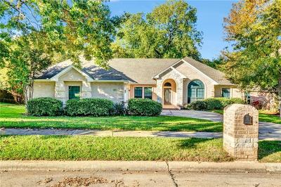 Azle Single Family Home Active Contingent: 1805 Spinnaker Lane