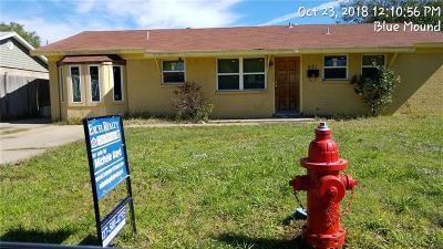 Blue Mound Single Family Home For Sale: 421 Globe Avenue