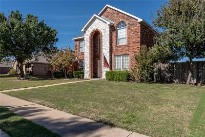 Sachse Single Family Home For Sale: 4707 Maple Shade Avenue