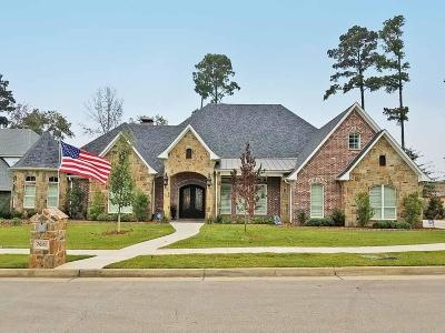 Tyler Single Family Home For Sale: 7620 Crosswater