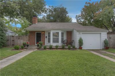 Single Family Home For Sale: 6341 Malvey Avenue