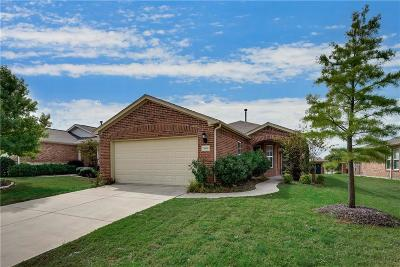 Frisco Single Family Home Active Option Contract: 7809 Whirlwind Drive