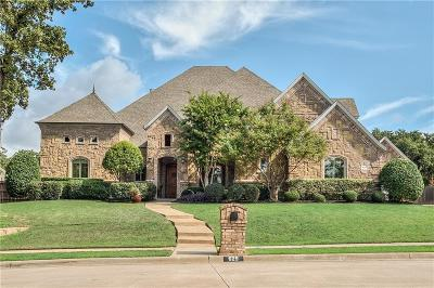 Keller Single Family Home For Sale: 629 Meandering Woods Drive