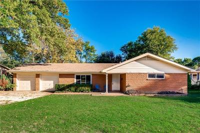Single Family Home For Sale: 6917 Overhill Road