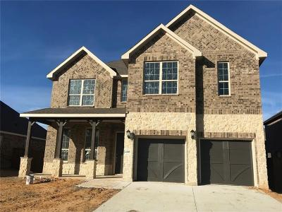 Mansfield Single Family Home For Sale: 4505 Calla Lily Lane