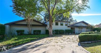 Abilene Single Family Home For Sale: 25 Cypress Point Street