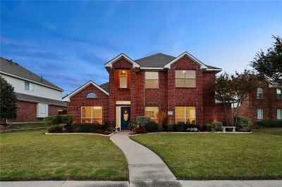 Plano TX Single Family Home Active Option Contract: $384,900