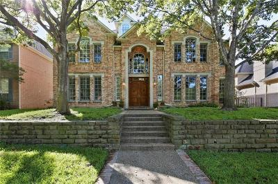 Dallas TX Single Family Home For Sale: $829,000