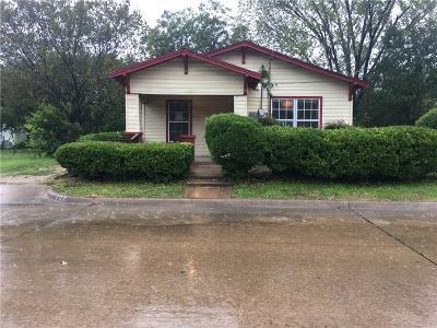 Waxahachie Single Family Home For Sale: 702 E Parks Avenue
