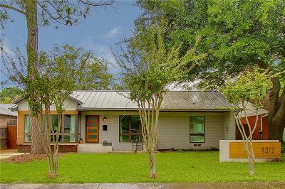 Single Family Home For Sale: 4015 Lively Lane