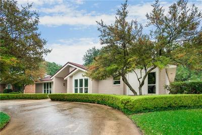 Dallas County Single Family Home Active Contingent: 9414 Trail Hill Drive