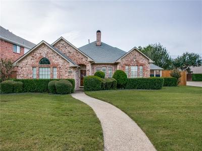 Carrollton Single Family Home Active Option Contract: 2100 Menton Drive