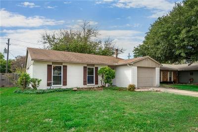 Allen Single Family Home Active Contingent: 564 Ridgemont Drive