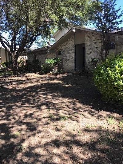 Single Family Home For Sale: 3100 Barton Road