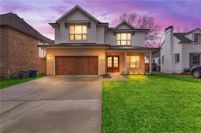 Dallas County Single Family Home For Sale: 7132 Casa Loma Avenue