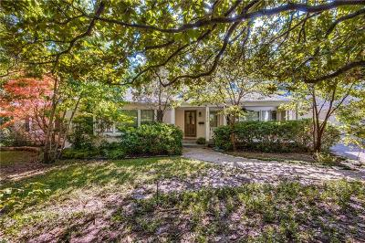 Dallas County Single Family Home For Sale: 4326 Margate Drive