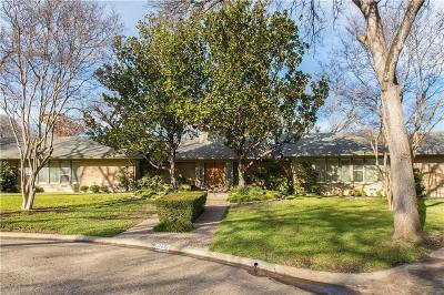 Dallas County Single Family Home For Sale: 7435 Kenshire Lane