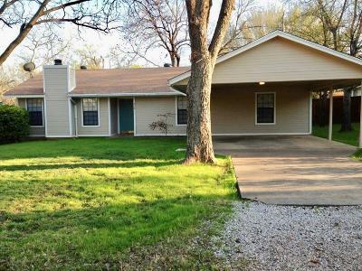 Lake Dallas Single Family Home Active Contingent: 716 Glen Rhea Drive