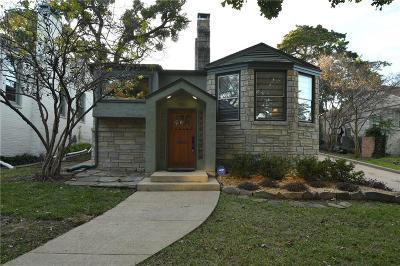 Dallas Single Family Home For Sale: 1311 Cedar Hill Avenue