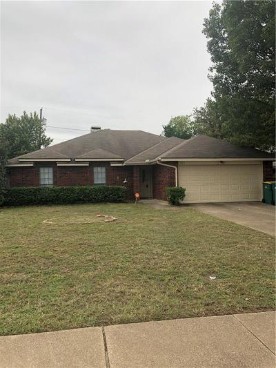 Cedar Hill Single Family Home For Sale: 671 Brookside Drive