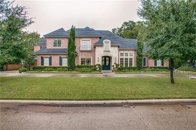 Dallas Single Family Home For Sale: 6011 Club Oaks Drive