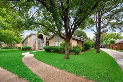 Bedford, Euless, Hurst Single Family Home For Sale: 3808 Brookside Drive
