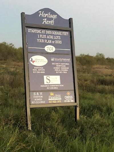 Millsap Residential Lots & Land For Sale: Lot 14 Esther Court