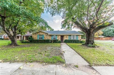 Irving Single Family Home Active Contingent: 1346 Carriage Drive