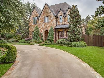Dallas County Single Family Home Active Option Contract: 6410 Orchid Lane