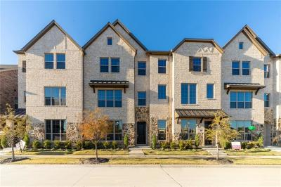 Lewisville Townhouse For Sale: 2538 Plumas Drive