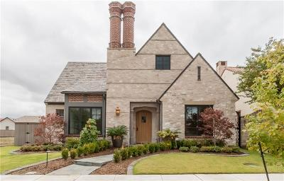 Coppell Single Family Home Active Option Contract: 327 Oxford Place