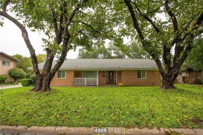 Benbrook Single Family Home For Sale: 4009 Dawn Drive