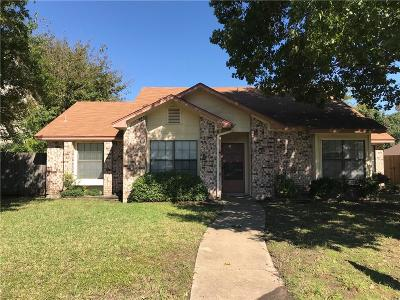 Rowlett Single Family Home For Sale: 7717 Rice Drive