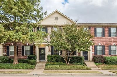 Richardson Townhouse For Sale: 4065 Kyndra Circle
