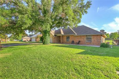 Stephenville Single Family Home Active Option Contract: 1122 Prairie Wind Boulevard