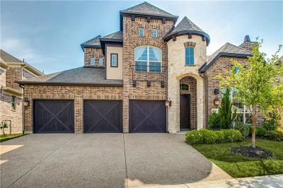 The Colony Single Family Home Active Option Contract: 7813 Rosebank