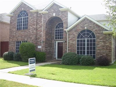 Lewisville Single Family Home For Sale: 412 Kyle Lane