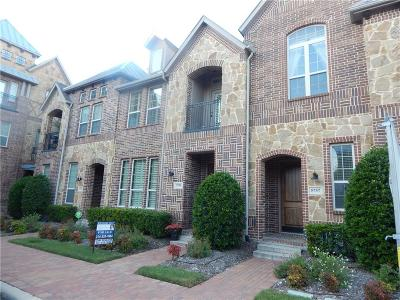 Plano Townhouse For Sale: 5759 Knox Drive