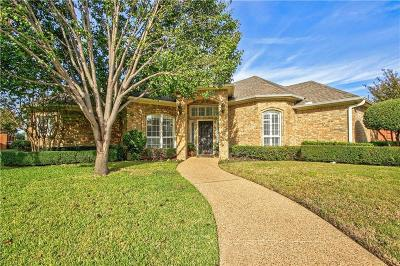 Plano Single Family Home Active Option Contract: 3705 Churchill Court