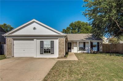 Fort Worth TX Single Family Home For Sale: $188,000