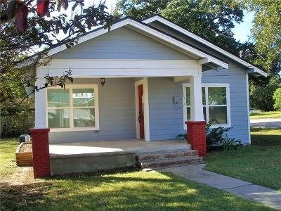 Weatherford Single Family Home For Sale: 1115 N Elm Street