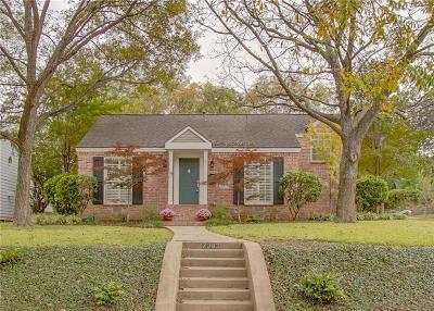 Single Family Home Active Option Contract: 7302 Coronado Avenue