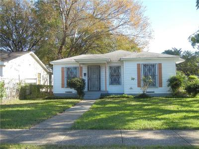 Single Family Home For Sale: 2668 Kathleen Avenue