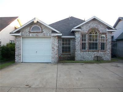 Duncanville Single Family Home Active Option Contract: 922 Gaynor Avenue